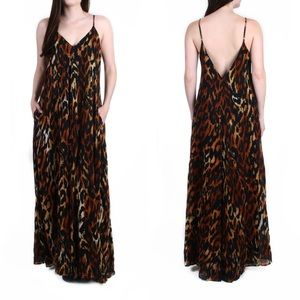Indah Cheetah Print Maxi Dress